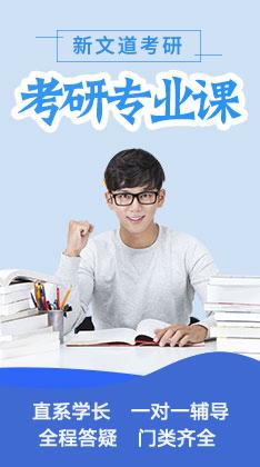 文都2020考研专业课1v1